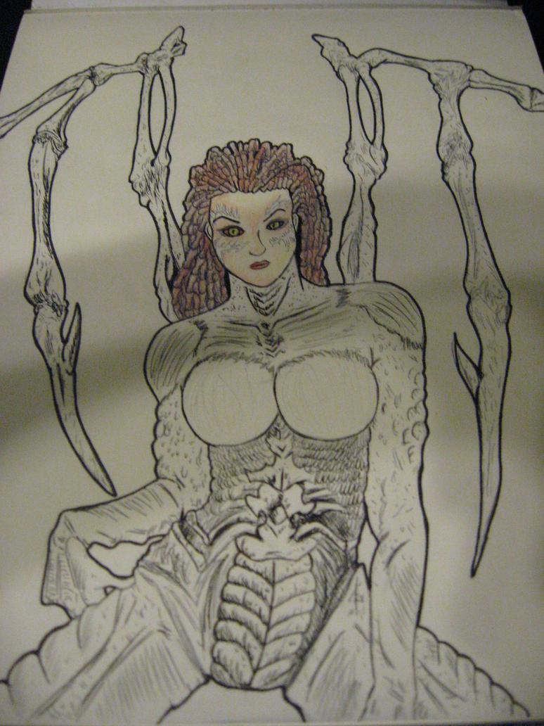 Queen of Blades! (WIP) by JeffreyTrudeau
