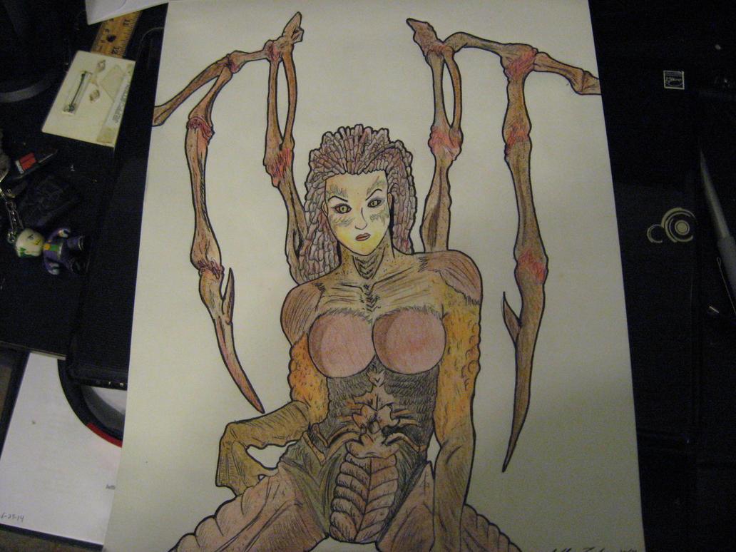 Queen of Blades! Complete by JeffreyTrudeau
