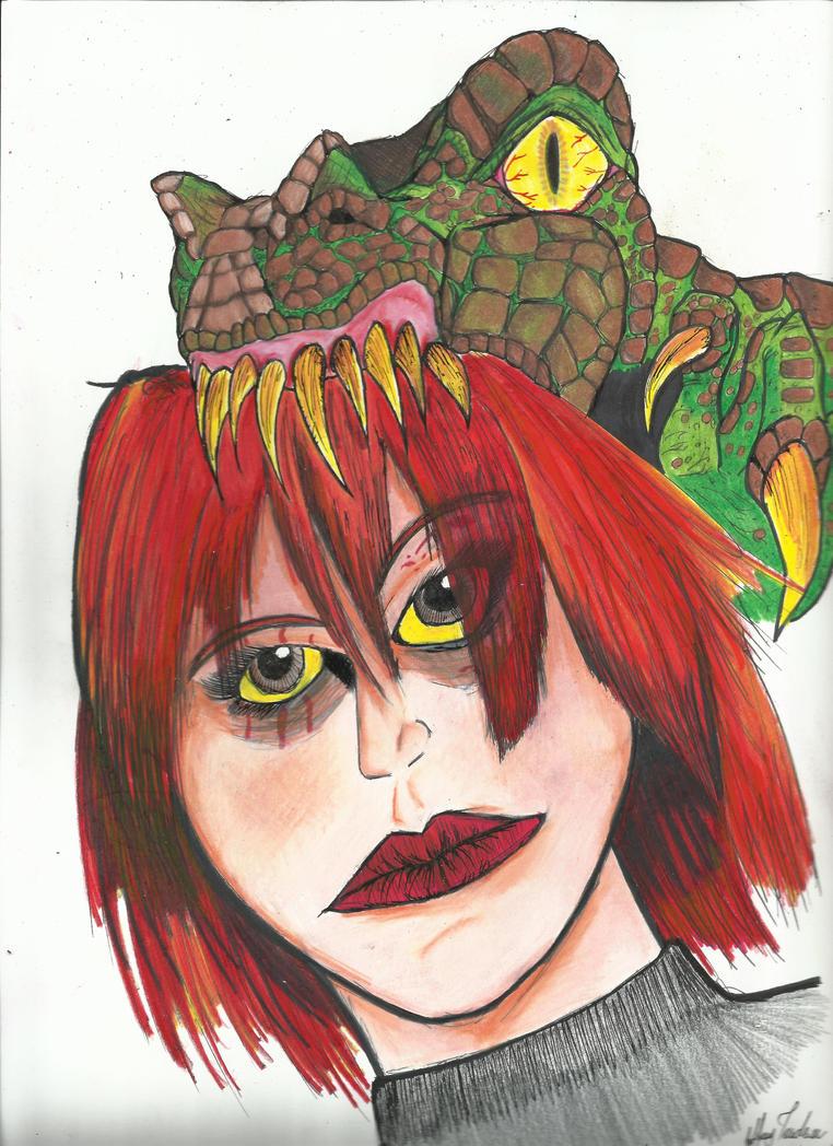 Regina's Killer Hat by JeffreyTrudeau