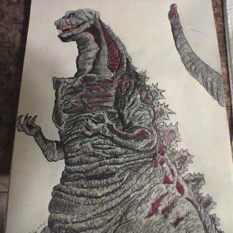 Godzilla Resurgence by JeffreyTrudeau