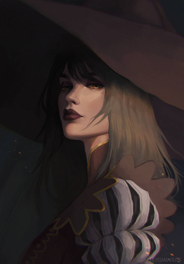 Portrait commission: Riana