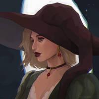 Portrait commission: Janet