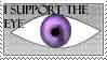 I support the eye by katthekat