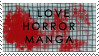 Horror manga stamp by katthekat
