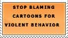 Stop blaming cartoons by katthekat