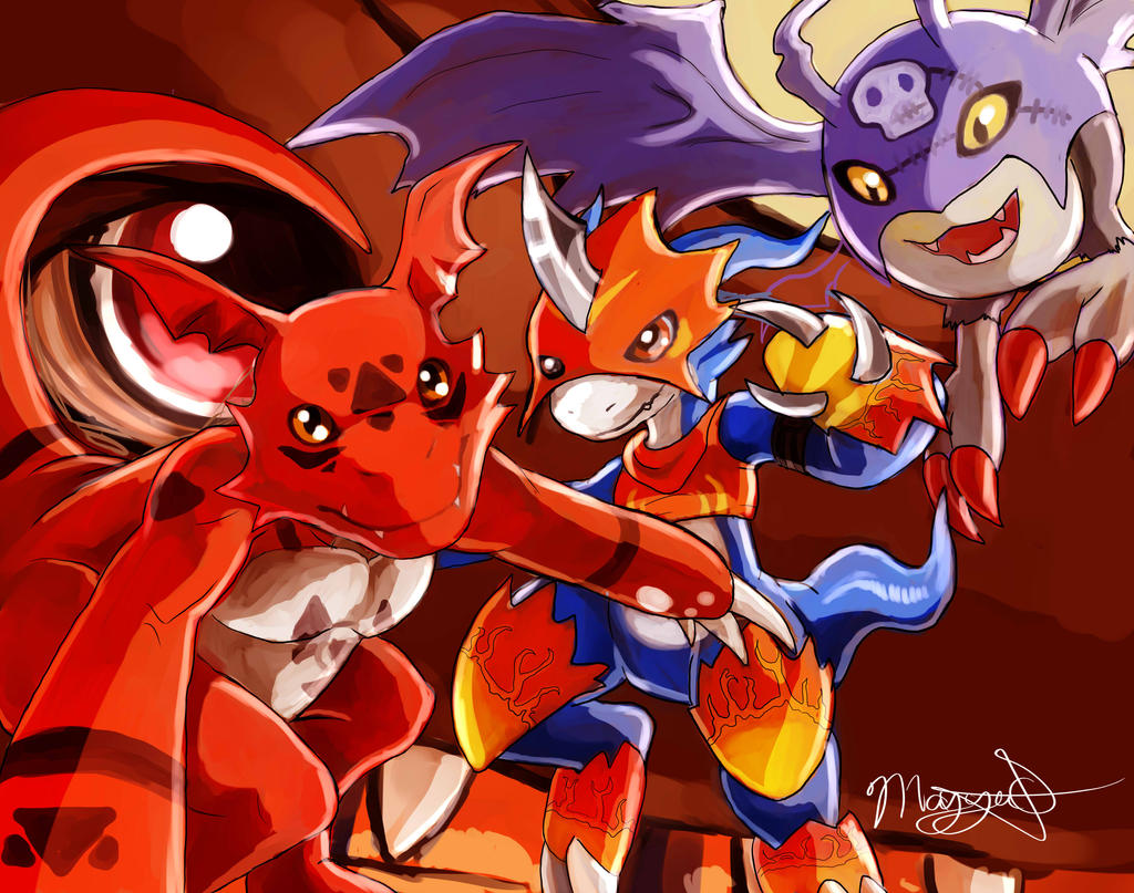 My Digimon Squad by May-Ya
