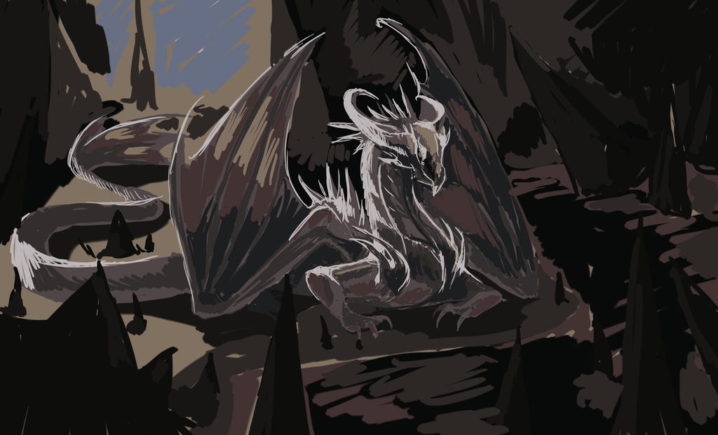 Water-Mist Dragon by May-Ya