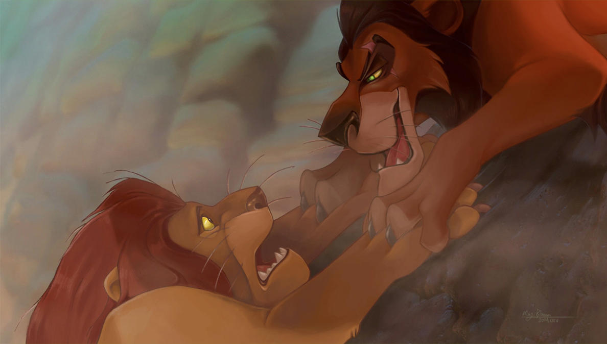 Lion King Fan Art - Paintover by May-Ya