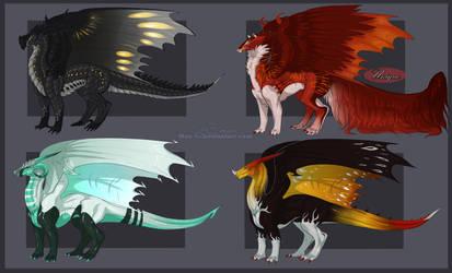 Dragon Adopts Sheet 3 [1/4 CLOSED]