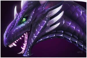 Ashs-Dragon-Nest [Comm] by Zevanox