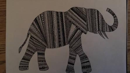 Elephant by three-day-horizon