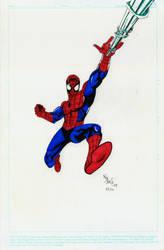 Spider-man marker work by onizuka43