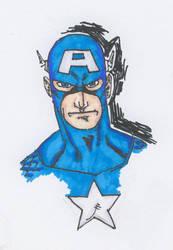 Captain America by onizuka43