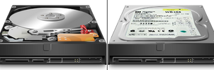 HDD Icons preview by DrunkenSandwich