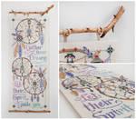 Cross-stitch ''Gather Your Dreams...''