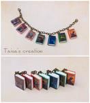 Tiny Seven Harry Potter Books Bracelet
