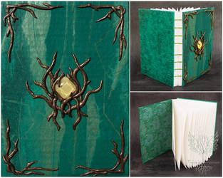 Sketchbook ''The Wood of Greenleaves Tales'' by Taisa-Winged