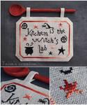 Cross-stitch ''Witch's Kitchen''