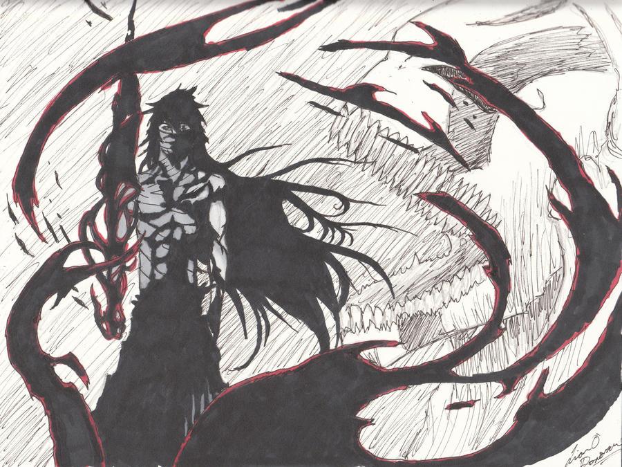 Ichigo Ultimate Form Re-do by MrUnsensible666 on DeviantArt