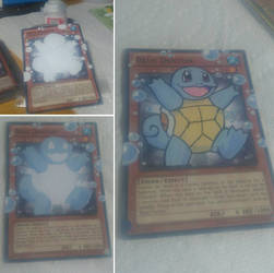 Yu-Gi-Oh Card Alter: Squirtle! by MrUnsensible666