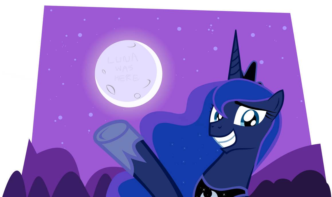 Luna Moon Circles by AmericanRX