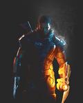 Shepard on the Battlefield