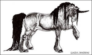 Inked Unicorn by chipset
