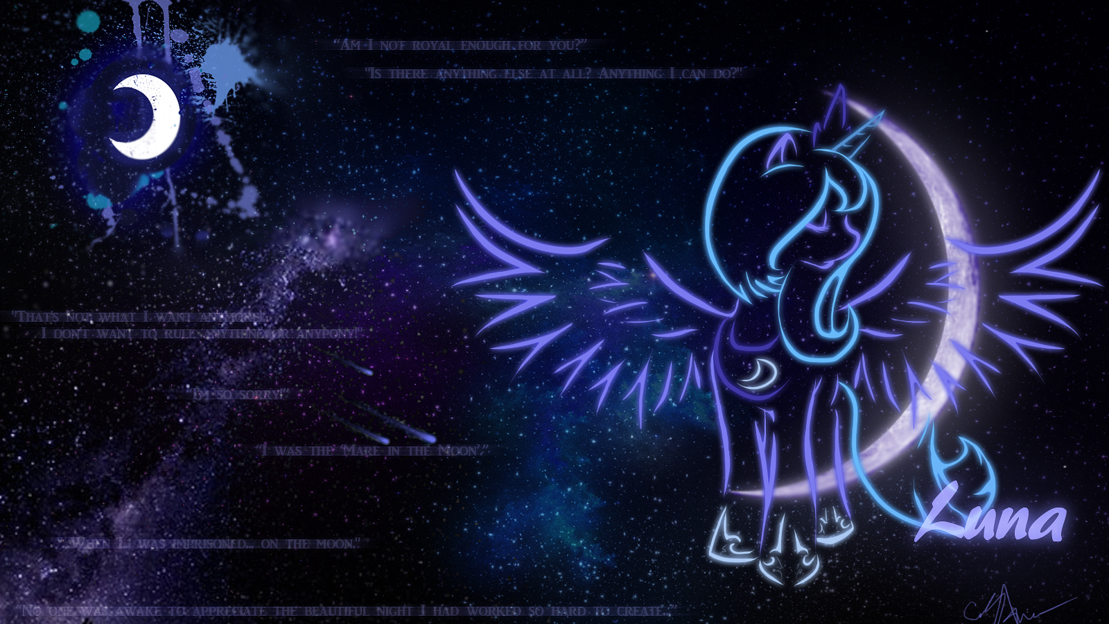 Princess Luna Wallpaper By Ayasin On DeviantArt