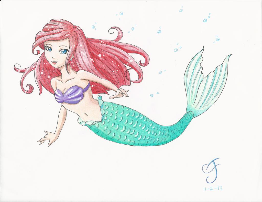 the little mermaid mark crilley tutorial by vaalkaaren