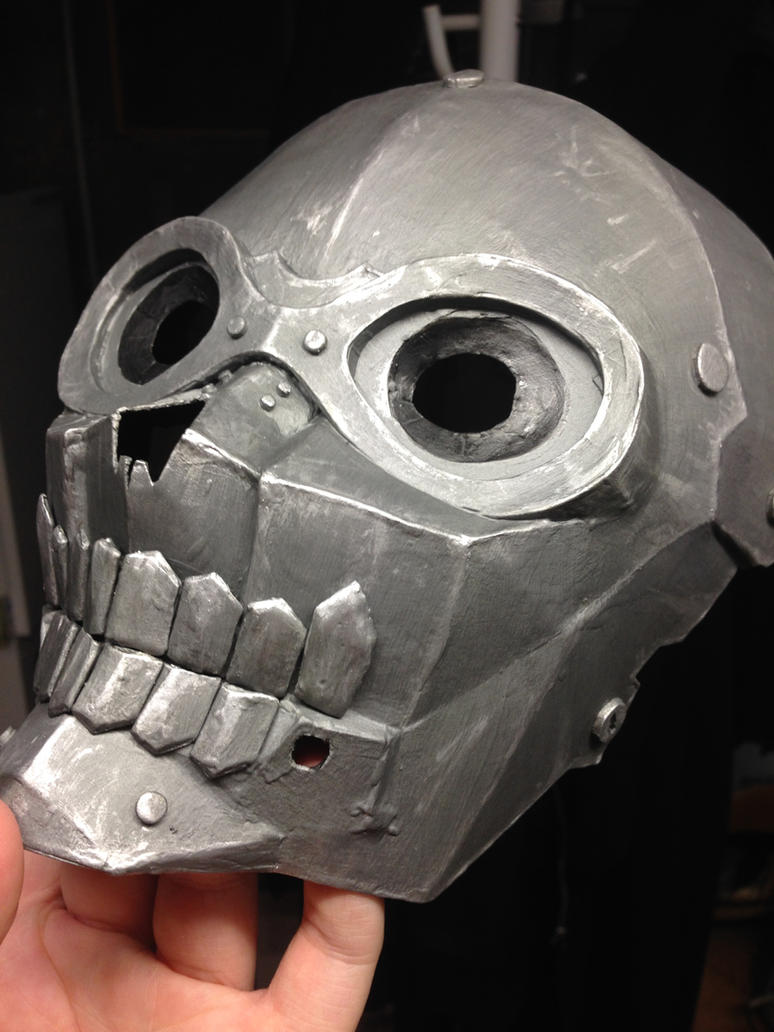 Death Gun mask WIP#2 by SkullSch00l