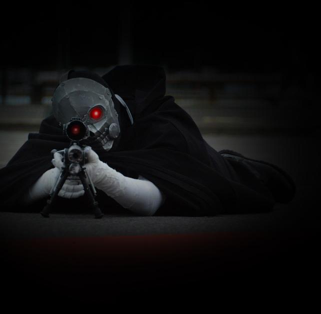 Death Gun Cosplay Preview by SkullSch00l