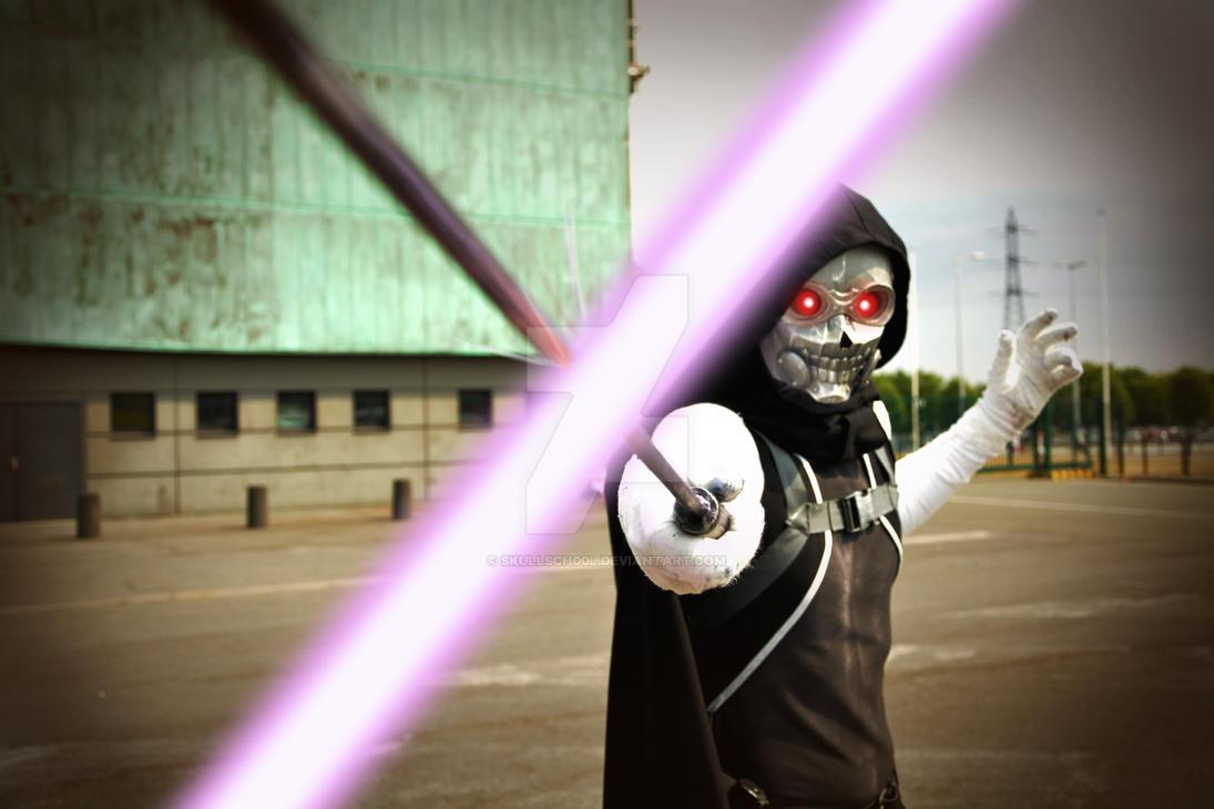SAO 2: Death Gun Cosplay by SkullSch00l