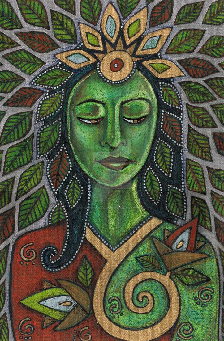 Gaia by Velvet-Dragon on DeviantArt