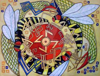 The Sun Wheel by Velvet-Dragon