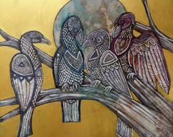 The Bird of Truth by Velvet-Dragon