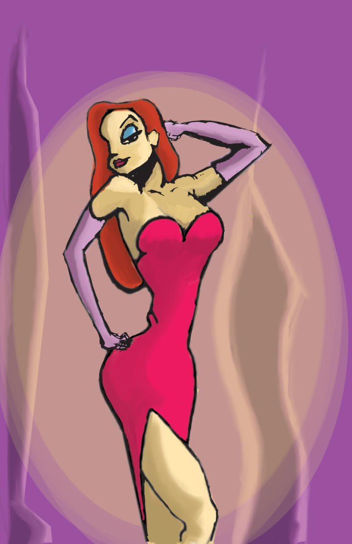 Jessica Rabbit by hosechavez