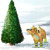 Pixel Wolf by CyndersAlmondEyes