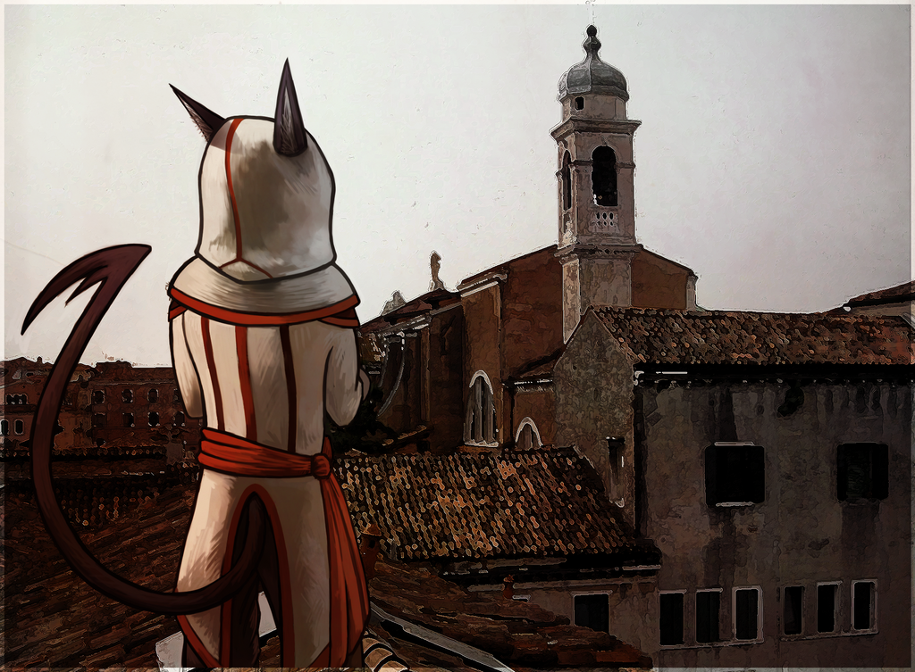 Lorenzo's City by CyndersAlmondEyes