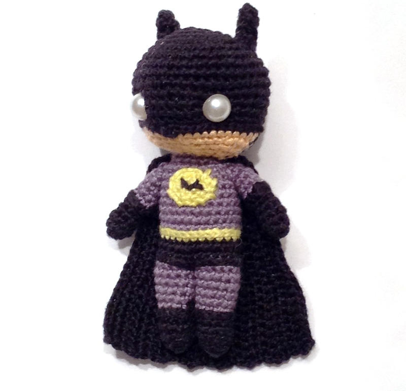 Batman amigurumi by AlinaEremeek on DeviantArt