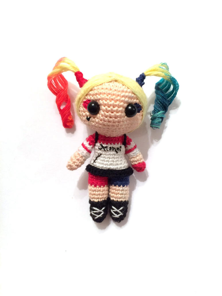 Amigurumi Harley Quinn : Harley Quinn - amigurumi by AlinaEremeek on DeviantArt