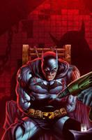 Batman Color test by rainerpetterart
