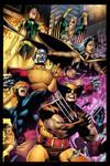 Byrnes X- Men team