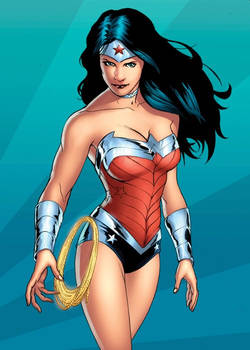 Wonder Woman DC New 52  trading card