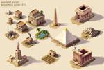 Ancient Egypt - Buildings concepts
