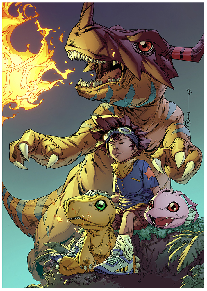 Digimon by rainerpetterart