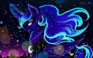 Luna meets the Winter night by Das-Leben