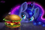 Luna's breakfast