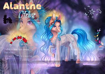 Alanthe Ofeline adopt by Das_Leben (open) by Das-Leben