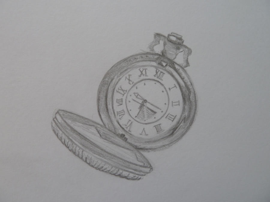 Heart Pocket Watch Drawing Pandora Hearts By