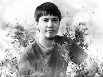 Deven Self-Portrait by DevenDesign